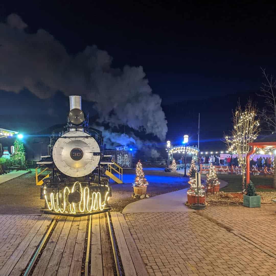 Kuzey Kutbuna Giderek Toronto'daki Büyülü Bayram Trenine Atlayabilirsiniz 1