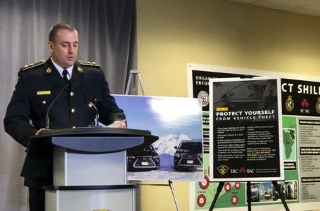 Ontario'da  20 Kişi Nitelikli Araç Hırsızlığıyla Suçlanıyor