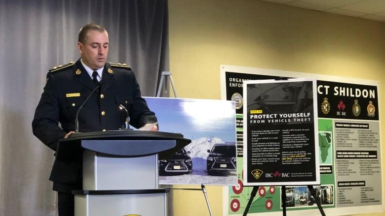 Ontario'da  20 Kişi Nitelikli Araç Hırsızlığıyla Suçlanıyor 1