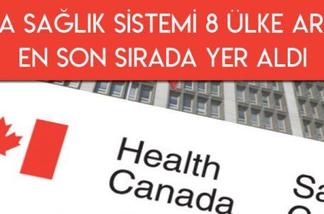 Kanada Sağlık Sistemi 8 Ülke Arasında Son Sırada