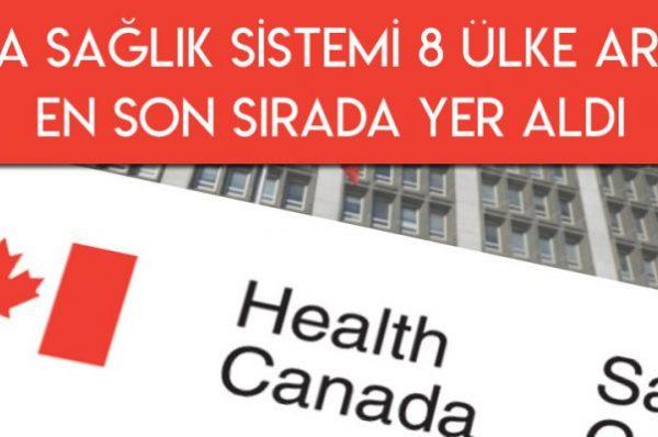 Sağlık Sistemi Sıralamasında 8 Ülke Arasında Son Sırada Yer Alan Kanada