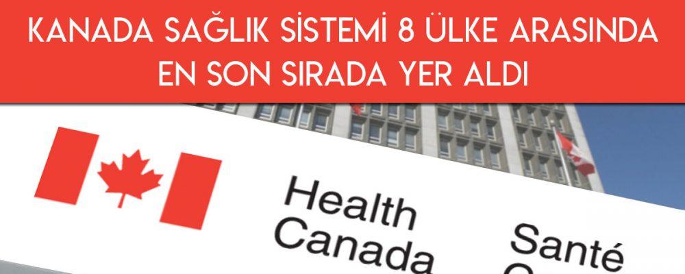 Kanada Sağlık Sistemi 8 Ülke Arasında Son Sırada 1