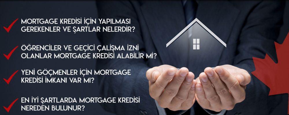 Kanada'da Emlak (Mortgage) Kredileri 1