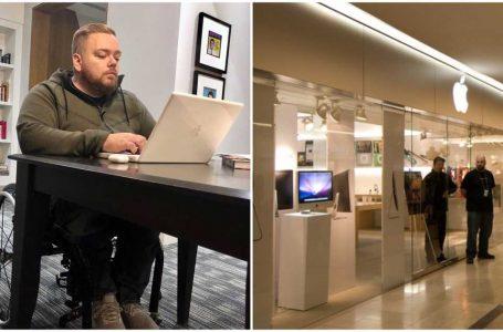 Ontario Apple Çalışanı Tekerlekli Sandalyede Olduğu İçin Suistimal Edildiğini ve Haksız Şekilde İşten Çıkarıldığını Söyledi