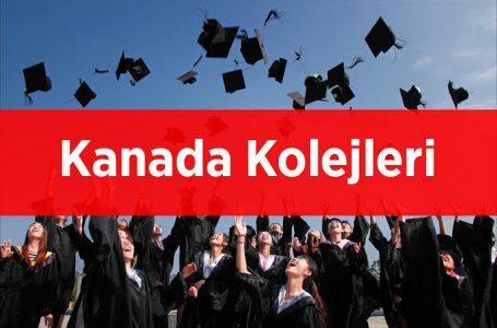 Kanada'daki Kolejler ve Meslek Yüksekokulları