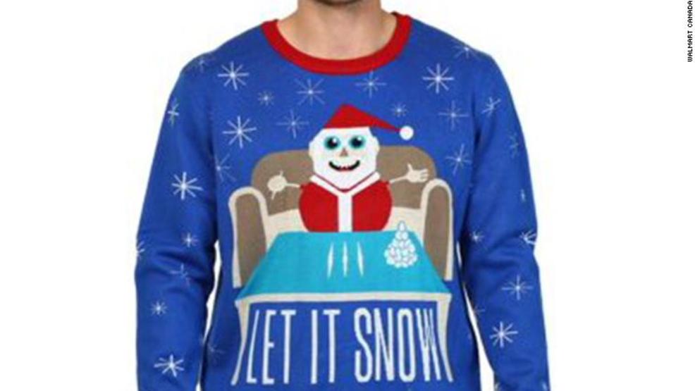 Walmart Açıkça Kokain Göndermesi Yapan Noel Sweaterları için Özür Diledi! 2