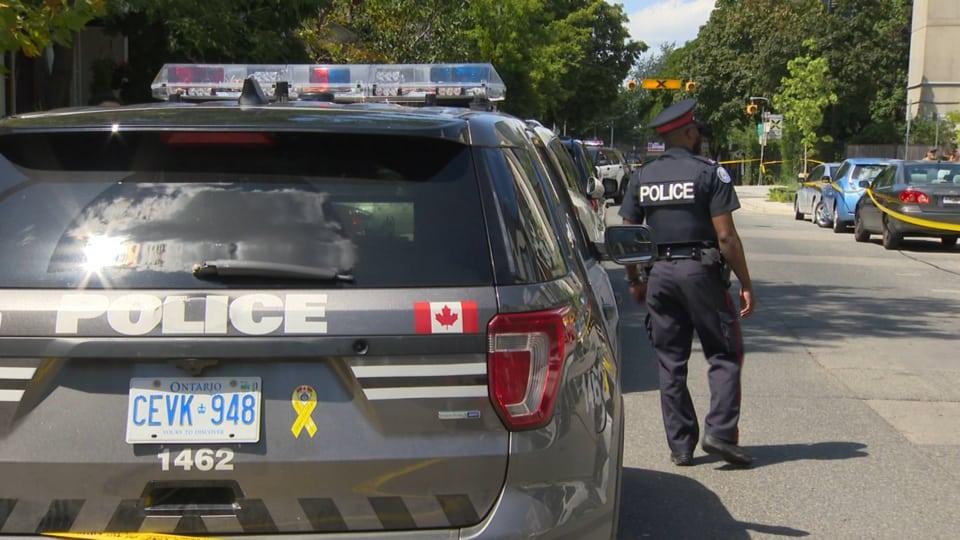 Toronto Downtown'da bir kadına silahlı saldırı 1